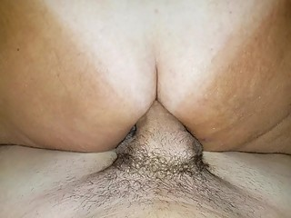 Hot anal insertion