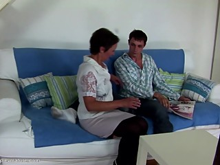 Taboo home story not mom gets creampie..
