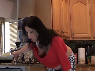 Milf Diaries - stepSon, Feel My Belly..