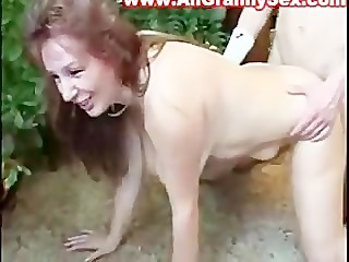 czech mom and step-son